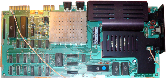 VIC-20 non-CR mainboard